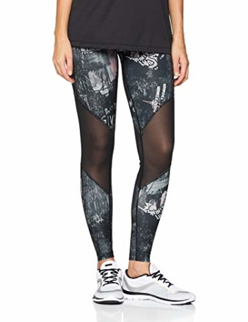 Nike Damen Tights Power Team, Storm Pink/Black, M, 933779-646 - 1