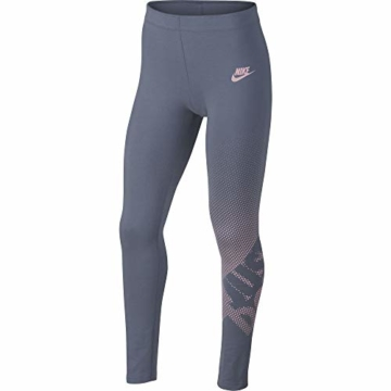 Nike Kind G NSW Favorite Gx1 Leggings, Ashen Slate/Rosa, Small - 1