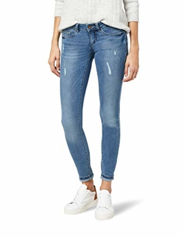 ONLY  15129017 Damen  Onlcoral SL SK Dnm Jeans , Blau (Medium Blue Denim), W28/L32 - 1