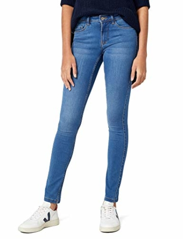 Only Damen Jeans Skinny REG soft , Blau (Medium Blue Denim), XL/34 - 1
