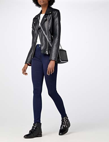 ONLY Damen Jeanshose ROYAL HIGH Skinny Jeans PIM101 NOOS, Blau (Dark Blue Denim), 38/L34 (Herstellergröße: M) - 2