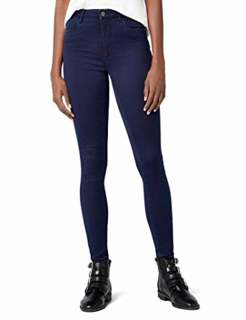 ONLY Damen Jeanshose ROYAL HIGH Skinny Jeans PIM101 NOOS, Blau (Dark Blue Denim), 38/L34 (Herstellergröße: M) - 1