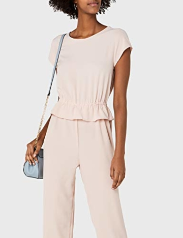 ONLY Damen Jumpsuit onlDAPHNE Capsleeve WVN, Rosa Rose Smoke, 38 - 2