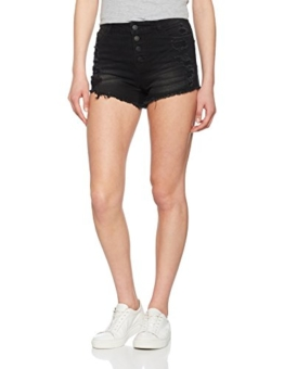 ONLY Damen Shorts onlPACY HW Destroy DNM BJ, Schwarz (Black), W29 - 1
