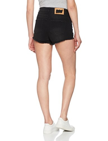 ONLY Damen Shorts onlPACY HW Destroy DNM BJ, Schwarz (Black), W29 - 2