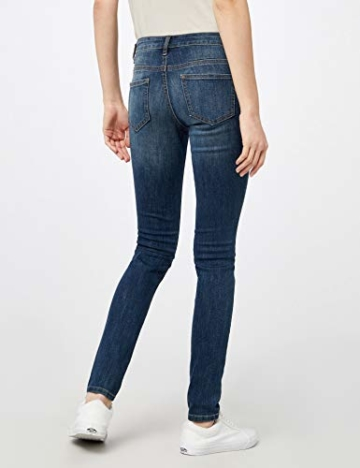 TOM TAILOR Damen Jeanshose Skinny Alexa, Blau (Dark Stone wash Denim 1053), W33/L34 (Herstellergröße: 33) - 4