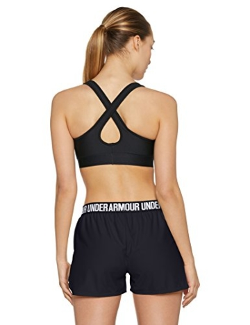 Under Armour Damen Play Up Shorts 2 Kurze Hose, schwarz(Black / Black / White (002)), M - 2