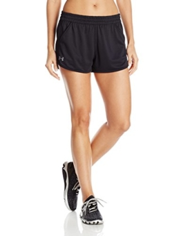 Under Armour Damen Tech Shorts 2.0 Kurze Hose, schwarz (Black), LG - 1
