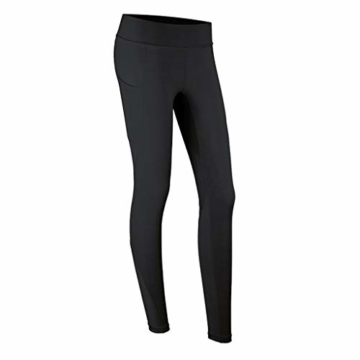 Zyj stores-Yoga Hosen Fitness Pants Elastic Schnell trocknende Jogginghose Training Enge Yogahose Herbst und Winter Leggings (Color : Black, Größe : M) - 1