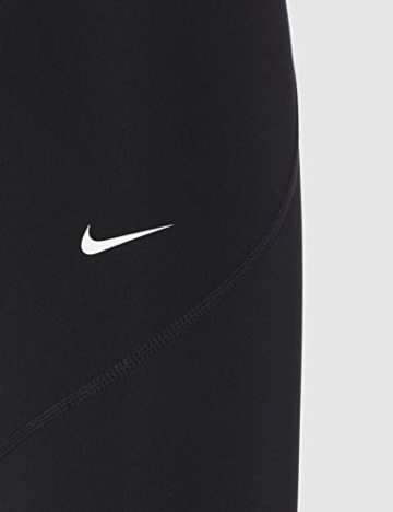 Nike Damen Pro Leggings, Black/White, M - 5