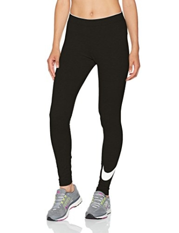Nike W NSW Club logo2 Damen Leggings, Schwarz(Black/White/010), Gr. S - 1
