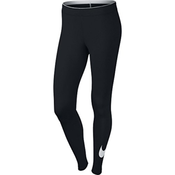 Nike W NSW Club logo2 Damen Leggings, Schwarz(Black/White/010), Gr. S - 3