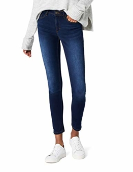 ONLY Damen Skinny Jeans 15077791/SKINNY SOFT ULTIMATE 201, Blau (Dark Blue Denim), Gr. M/L32 (M) - 1