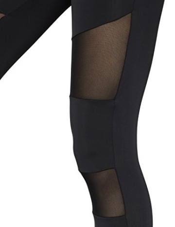 Urban Classics Ladies Tech Mesh Leggings, Schwarz (black 7), S - 6