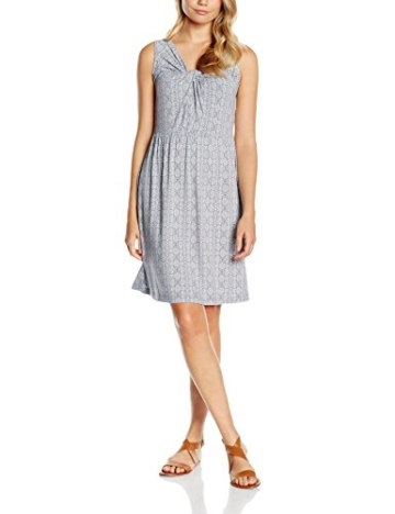 TOM TAILOR Damen Kleid Summer Dress Blau