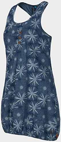 alife and Kickin Cameron Dress L, Dark Denim Flowers - 3