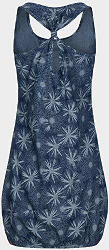 alife and Kickin Cameron Dress L, Dark Denim Flowers - 4
