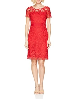 s.Oliver BLACK LABEL Damen 11.803.82.7517 Partykleid, Rot (Adrenalin Red 3350), 36 - 1