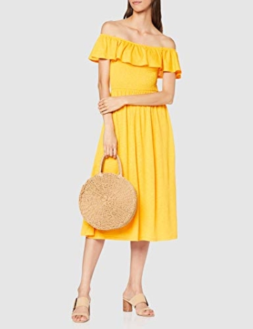 TOM TAILOR Damen 1009470 Kleid, Gelb (Golden Yellow 17278), Medium - 2