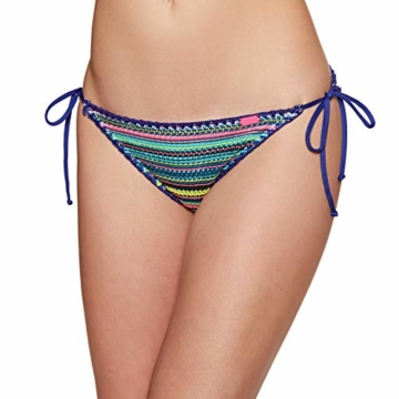 Superdry Crochet Carnival Tri Womens Bikini Bottoms Medium Multi Stripe - 3