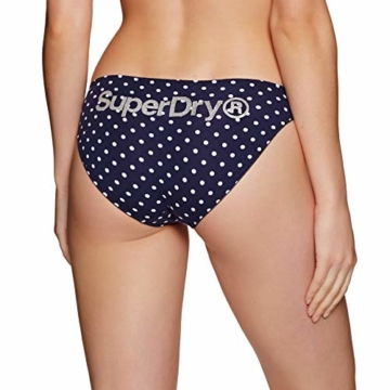 Superdry Damenslips Dreierpack SUPER Standard Brief Triple Bright Aqua Tropical Navy Dot, Größe:XS - 4