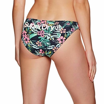 Superdry Damenslips Dreierpack SUPER Standard Brief Triple Bright Aqua Tropical Navy Dot, Größe:XS - 1
