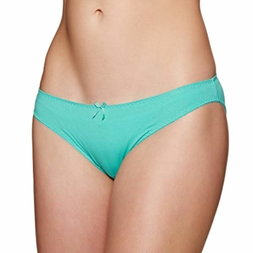 Superdry Damenslips Dreierpack SUPER Standard Brief Triple Bright Aqua Tropical Navy Dot, Größe:XS - 9