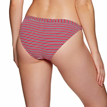 Superdry Kasey Fixed Tri Womens Bikini Bottoms Small Nautical Red - 4