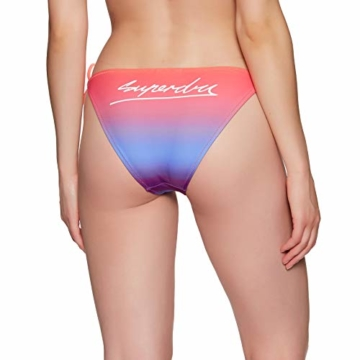 Superdry Riley Ombre Tie Womens Bikini Bottoms UK 8 Reg Sunset Ombre - 4