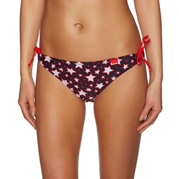 Superdry Tie Bikini Bottoms X Small Pacific Star Red - 1
