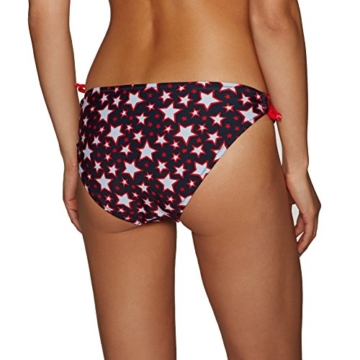 Superdry Tie Bikini Bottoms X Small Pacific Star Red - 2