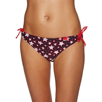 Superdry Tie Bikini Bottoms X Small Pacific Star Red - 3