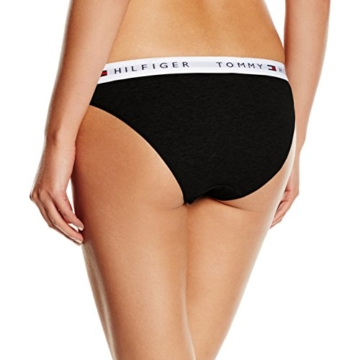 Tommy Hilfiger Damen Panties Cotton bikini iconic, Schwarz (BLACK 990), Gr. MD - 2